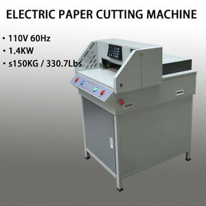 19 3 programable Electric Paper Cutting Machine Trimmer Cutter4908t H efficiency