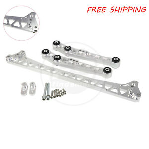 Bestparts Billet Lower Control Arm subframe Brace 92 95 For Civic del Sol eg