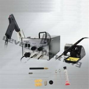 Aoyue 701a 2 In1 Hot Air Rework Station With Soldering Iron Repair Tool New