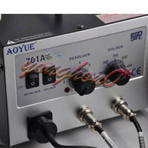 Hot Air Rework Station With Soldering Iron Repair Tool 2 In1 Aoyue 701a