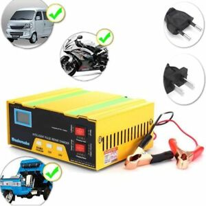 12v 24v Motorcycle Auto Car Truck Battery Charger Pulse Repair Lead Acid Starter