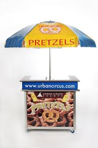 Industrial Pretzel Cart