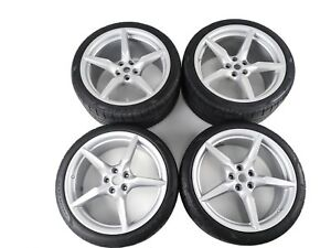 Ferrari 488 Set Rims With Tyres 20 Wheels Rims Set 318889 318890