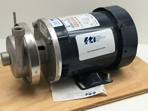 Finish Thompson Ac4sts1v300b015c05 Stainless Steel Centrifugal Pump 1 3hp