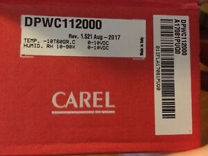 Carel Temperature And Humidity Wall Mounted Sensor dpwc112000