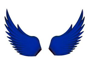 Windrider Blue Hood Ornament Replacement Wings