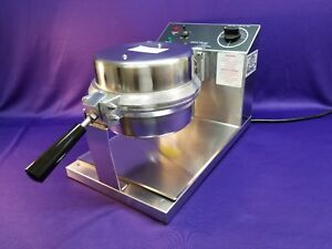 Gold Medal 5020 Giant Waffle Cone Countertop Baker Machine Maker Never Used