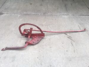 Farmall Cub Tractor Original Hand Lift Assembly For Implements missing Handle
