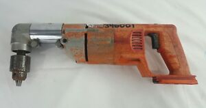 Milwaukee V18 1 2 Right Angle Drill 1108 21 Cordless Rare tool Only