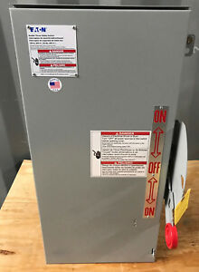 Dt323urk Cutler Hammer 100 Amp 240v 3pole Non Fused Double Throw Transfer Switch
