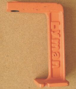 LYMAN Orange Powder Measure Stand (Used) 78
