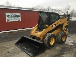2011 Caterpillar 262c Skid Steer Loader W Cab 2 Speed High Flow Coming Soon