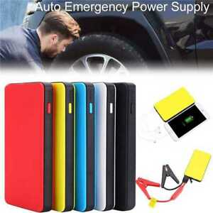 Unique 12v 10000mah Car Jump Starter Pack Booster Charger Battery Power Bank Usa