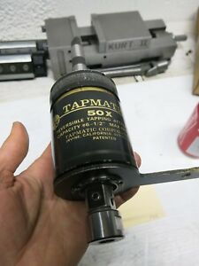 Tapmatic 50x Tapping Head 6 1 2 Capacity Mt 2