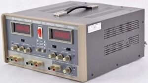 Bk Precision 1660a Desktop Digital Triple Output Dc Psu Power Supply Unit