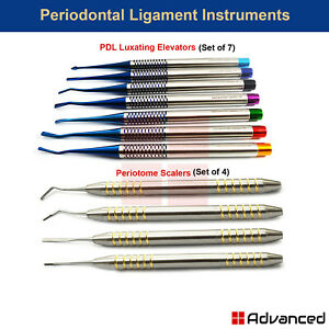 Periodontal Ligament Instruments Periotome Scaler Pdl Implant Surgery Extractors