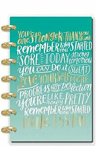The Happy Planner Girl New 2019 Healthy Hero mini Words Cover