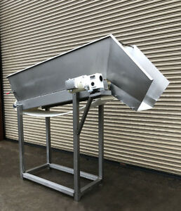 18 X 70 Incline Cleated Belt Food Conveyor 4 Food Product Conveying
