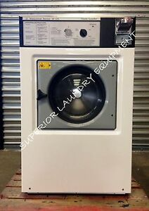 Wascomat 35lb Washer W125 Coin 220v 3ph White Reconditioned