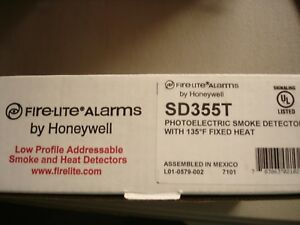 Fire Lite Sd355t new