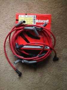 New Nos Ford Svt 1995 Cobra R 1993 1995 F 150 Lightning Red Ignition Wire Set