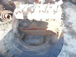 1943 Ford 9n Farm Tractor Engine ran At Removal