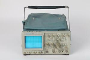 Tektronix 2465 300mhz Portable Analog Oscilloscope
