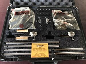 Starrett S668cz Shaft Alignment Clamp Set With Fitted Case