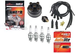 Electronic Ignition Tune Up Kit Ih Farmall A B Bn C H Hv M Mv W4 W6 Tractor