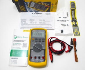 2017 Fluke 87 5 Nist Industrial True rms Multimeter W Nist Calibration Cert 87v