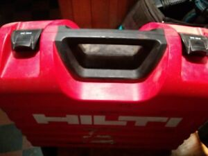 Hilti Rotating Laser Pri 36 Pra 72 Mount Case Charger And 2 Green Cards