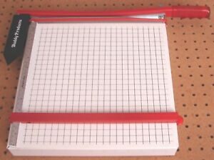 Buddy Products All Metal Paper Cutter 12 Wide great Used Condition Guillotine