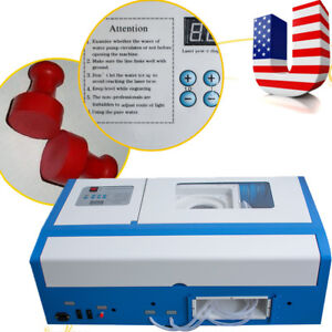 40w Co2 Laser Engraving Cutting Machine Engraver Cutter Usb Port Fraphics Fda Us