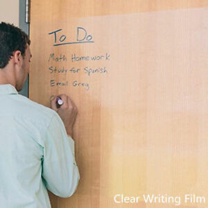 Dry Erase Board Transparent Writing Film Office School Graffiti Painting Sheet