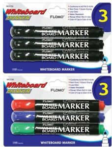 3 Pack Whiteboard Markers units Per Case 48