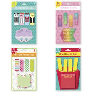 Novelty Flags And Sticky Notes 250 ct units Per Case 24