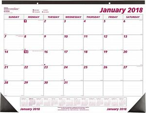 Monthly Desk Calendar 12 Month Jan dec 22 3 4 x1 units Per Case 7