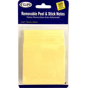 Sticky Notes 3 X 3 150 Sheets units Per Case 48
