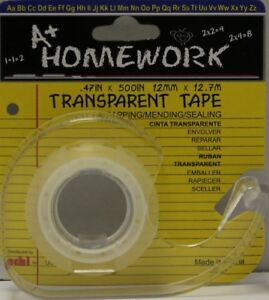 Stationery Tape Transparent units Per Case 144