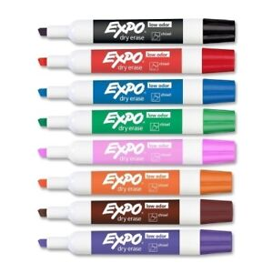 Sanford Ink Corporation Dry erase Markers Chisel units Per Case 3