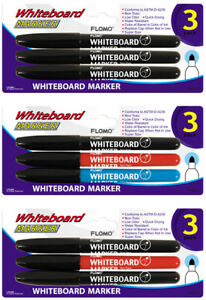 3 Pack White Board Markers units Per Case 48