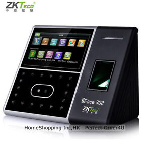 Usa Zkteco Biometric Face Fingerprint Attendance Time Clock door Access Control