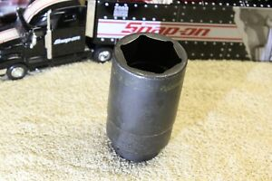 Snap On 1 7 16 Impact Deep Socket 6 Point 1 2 Drive Sim460 Usa Great Condition
