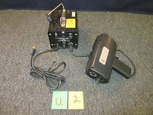 Pioneer Electric Research Stroboscope Strobe High Speed Light Digital Ds 303
