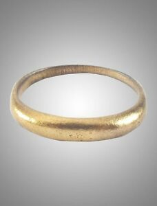 Authentic Ancient Viking Wedding Ring C 866 1067a D Size 10 1 4 20 3mm
