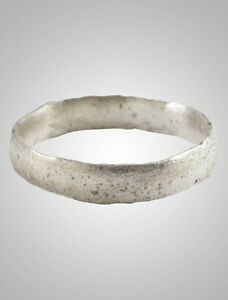 Ancient Viking Wedding Ring Band C 866 1067a D Size 8 1 2 18 6mm Brr1038