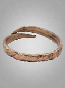 Ancient Wedding Band Viking Ring C 866 1067ad Size 12 21 7mm Brr766