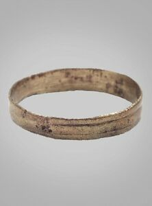 Ancient Viking Wedding Band Ring Jewelry C 866 1067a D Size 11 3 4 21 4mm