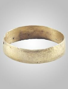 Authentic Ancient Viking Ring C 866 1067a D Size 7 3 4 17 8mm Brr1123
