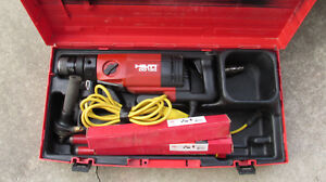Hilti Dd 130 Core Drill Hand Held Dry wet System 115v ac Kit Combo 784